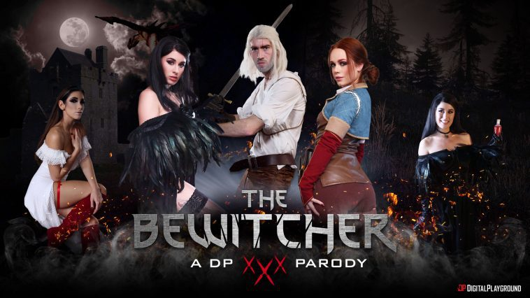 DigitalPlayground – The Bewitcher A DP XXX Parody Episode 4 – Ella Hughes, Olive Glass