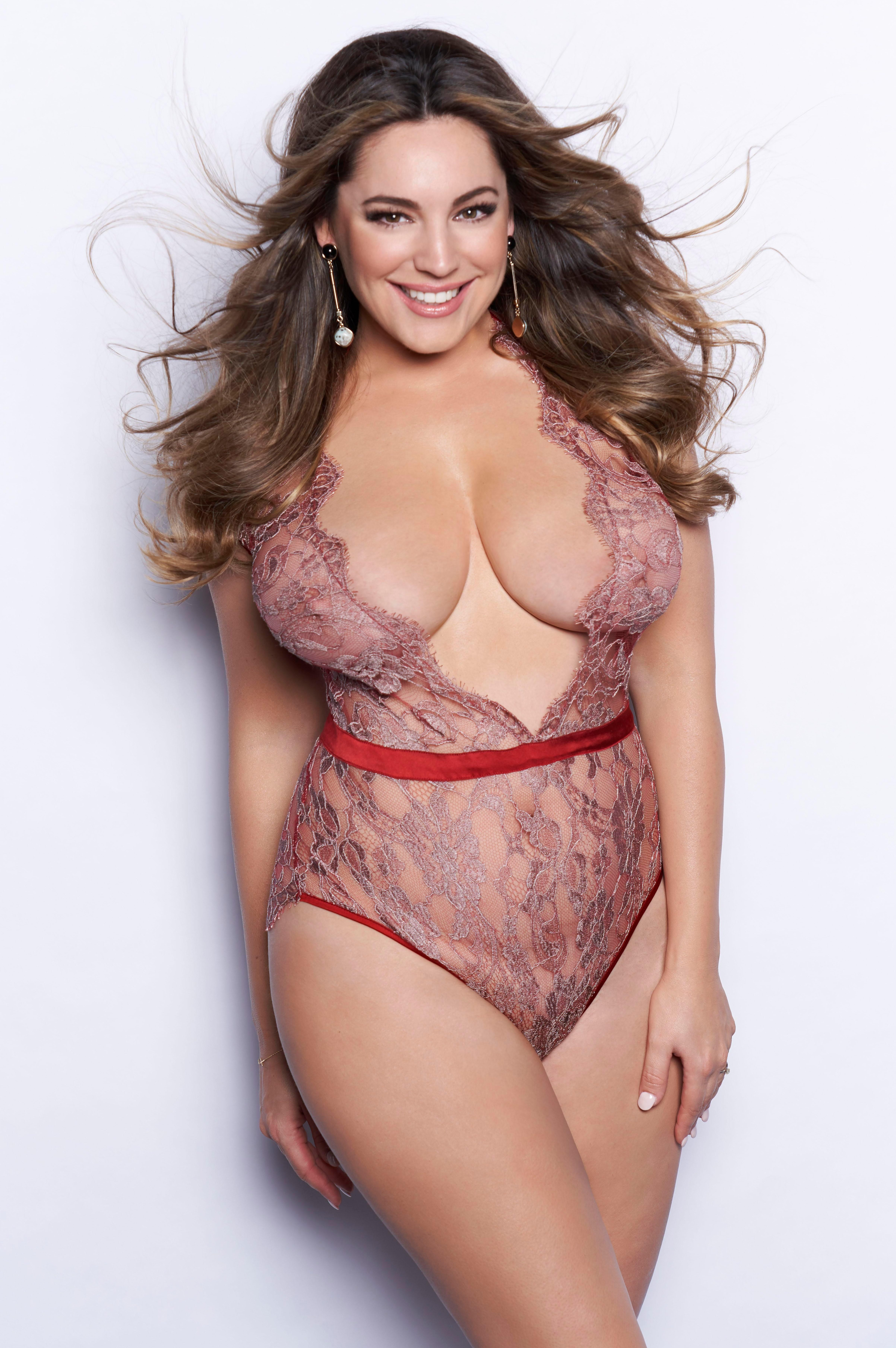 Kelly Brook Wearing Sexy Lingerie – Alan Strutt Photoshoot 2018