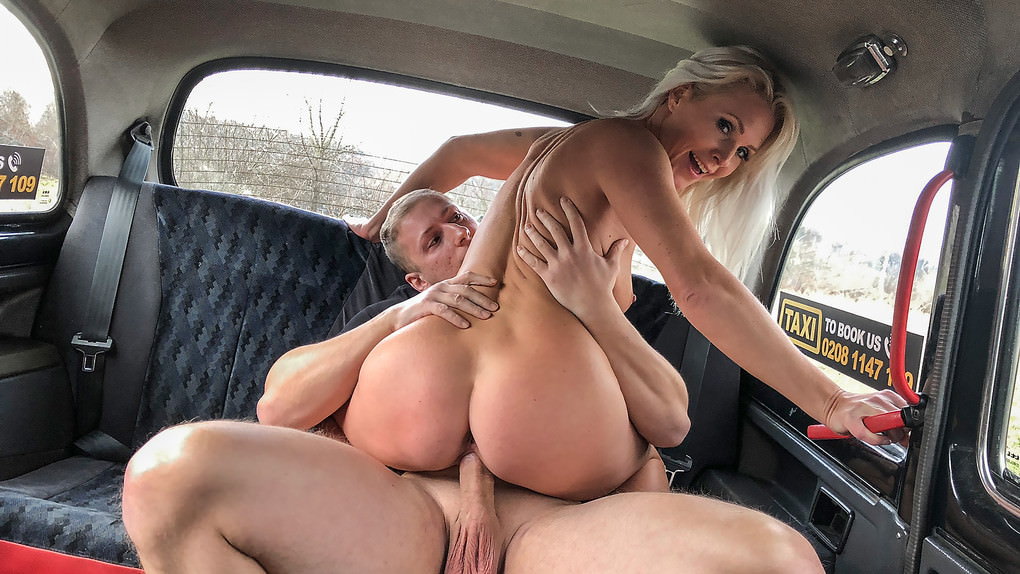 FemaleFakeTaxi – Kathy Anderson – Boxer fucks knockout blonde