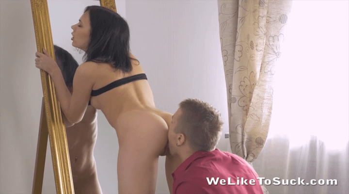 WeLikeToSuck – Lilia Cum – Covered Pussy
