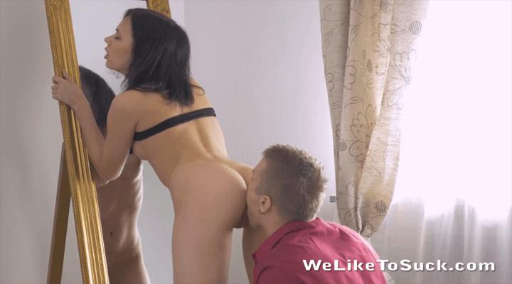 WeLikeToSuck – Lilia Cum – Covered Pussy