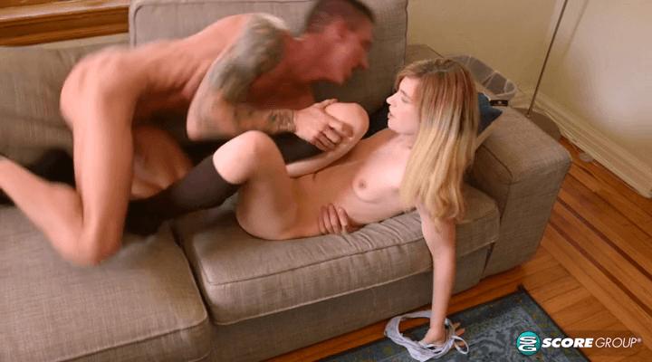 PornMegaLoad – Madison Breeze – Deep Throating Dads Friend