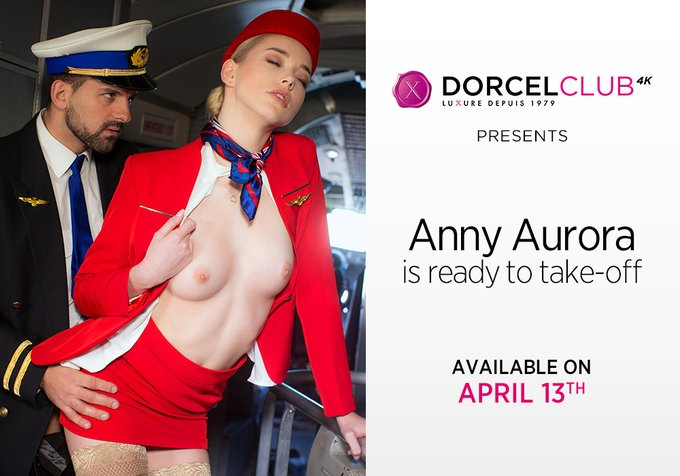 DorcelClub – Ready Take Off –  Anny Aurora