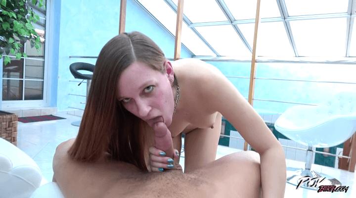 POVBitch –  Carol Redhead – Bitch Rides Cock For Creampie