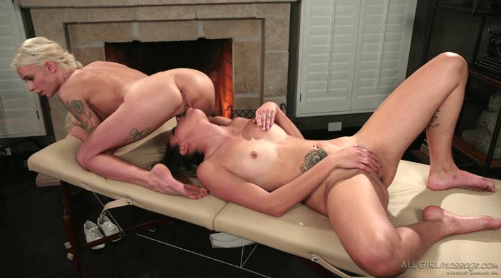 AllGirlMassage  – Sophia Grace , Emma Hix – Tantric Lesbian Massage